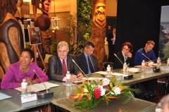 09-29-14 - Réunion des PTOM - Visite de la Ministre des Outre-mer - 040