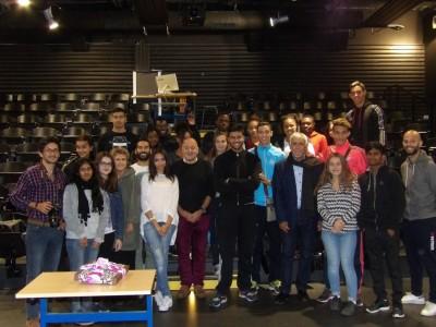 2015-09-17 - Taieb AIFA au lycée Paul-Eluard (43)