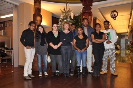 Le SEF accueille un groupe de jeunes venus passer le concours de Sciences Po